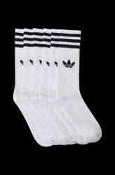 Sportsstrømpe Solid Crew Sock, 3-pak