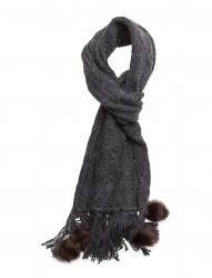 Square Knitted Scarf