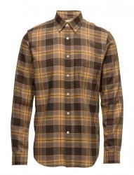 Standard Shirt Herringbone Brushed