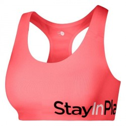 Stay In Place StayInPlace Active Sports Bra A-B - Coral * Kampagne *