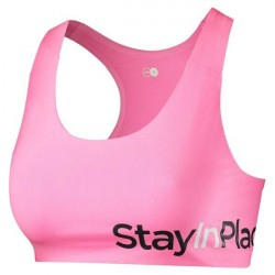 Stay In Place StayInPlace Active Sports Bra C-D - Pink * Kampagne *