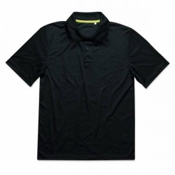 Stedman Active 140 Polo - Black * Kampagne *