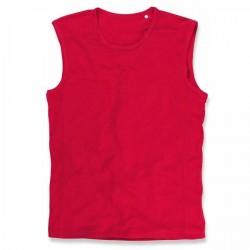 Stedman Active 140 Sleeveless - Red * Kampagne *