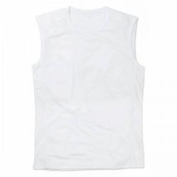 Stedman Active 140 Sleeveless - White * Kampagne *