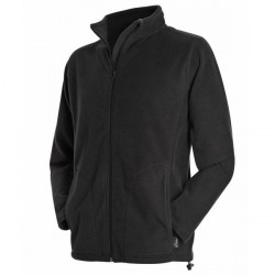 Stedman Active Fleece Jacket For Men - Black * Kampagne *