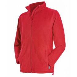 Stedman Active Fleece Jacket For Men - Red * Kampagne *