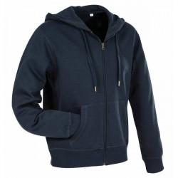 Stedman Active Hooded Sweatjacket For Men - Darkblue * Kampagne *