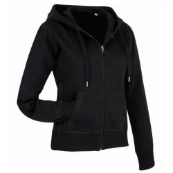 Stedman Active Hooded Sweatjacket For Women - Black * Kampagne *