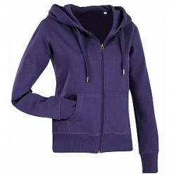 Stedman Active Hooded Sweatjacket For Women - Lilac - Medium