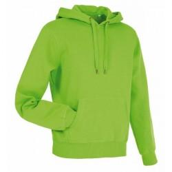 Stedman Active Sweat Hoody For Men - Green * Kampagne *