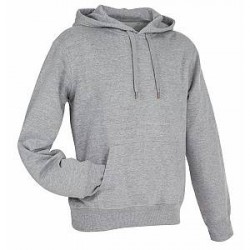 Stedman Active Sweat Hoody For Men - Greymarl - Small