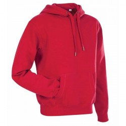 Stedman Active Sweat Hoody For Men - Red * Kampagne *