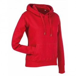 Stedman Active Sweat Hoody For Women - Red * Kampagne *
