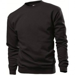 Stedman Sweatshirt Men - Black * Kampagne *