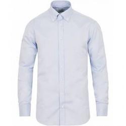 Stenströms Fitted Body Button Down Shirt Light Blue