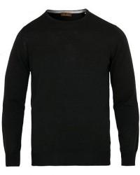 Stenströms Merino Crew Neck Pullover Black men XXXL
