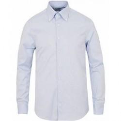 Stenströms Slimline Button Down Shirt Light Blue