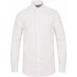 Stenströms Slimline Button Down Shirt White