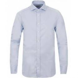 Stenströms Slimline Shirt Thin Stripe Blue