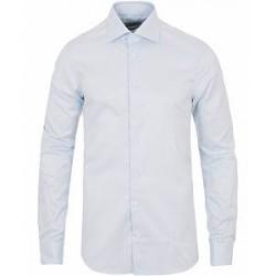 Stenströms Slimline Thin Stripe Shirt White/Blue