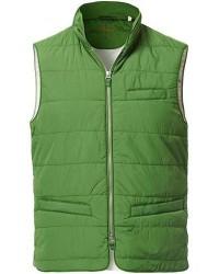 Stenströms Soft Quilted Nylon Vest Green men L Grøn
