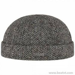 Stetson Docker Harris Tweed Cap