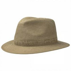 Stetson Traveller Delave Organic Cotton Hat
