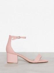 Steve Madden Irenee Sandal Low Heel Pink