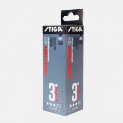 Stiga Bolde - TT Ball Perform 3-star ABS 3-pack
