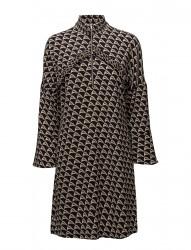 Stoclet T-Neck Dress