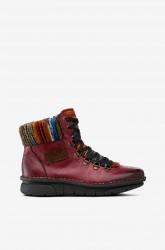 Støvle med folkloreinspiration