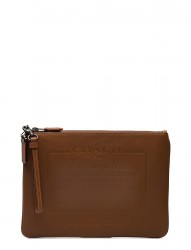 Story Patch Pouch In Washed Sport Calf