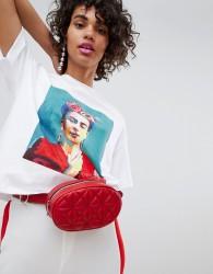 Stradivarius Frida Portrait T-Shirt - White