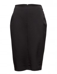 Stretch Faille Over The Knee Pencil Skirt