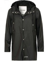 Stutterheim Stockholm Lightweight Raincoat Black men XL