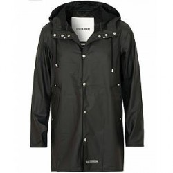 Stutterheim Stockholm Lightweight Raincoat Black