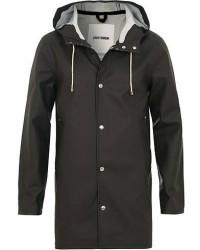 Stutterheim Stockholm Raincoat Black men XS Sort