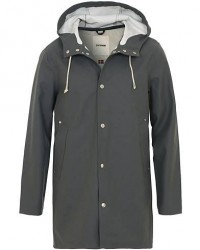Stutterheim Stockholm Raincoat Charcoal men XL Grå