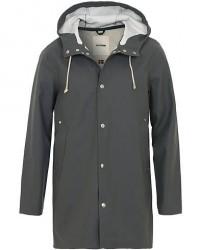 Stutterheim Stockholm Raincoat Charcoal men XS Grå