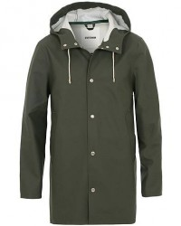 Stutterheim Stockholm Raincoat Green men S Grøn