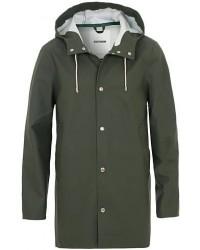 Stutterheim Stockholm Raincoat Green men XS Grøn