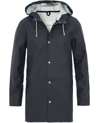 Stutterheim Stockholm Raincoat Navy men L Blå