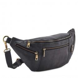 Style Frisco i mørkegrå. Stor bumbag/bæltetaske