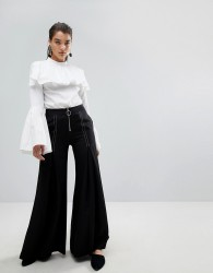 Stylemafia Surco Flared Trousers - Black