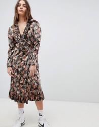 STYLENANDA Printed Maxi Dress - Brown