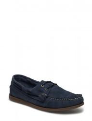 Suede Boat Shoe Exp17