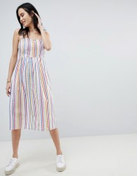 Sugarhill Boutique Candy Stripe Sundress - Multi