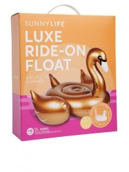 Sunnylife Float Gold Swan Strandtøj Gold