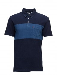 Sunset Pieced Polo Chest Strip