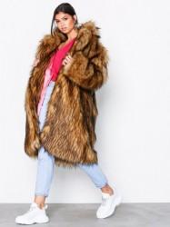 Svea Marble fur jacket Faux fur